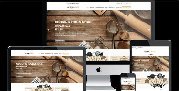 Housewares Retail WordPress Theme