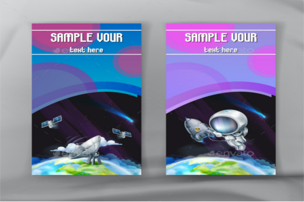 Illustration 3D Vector Brochure