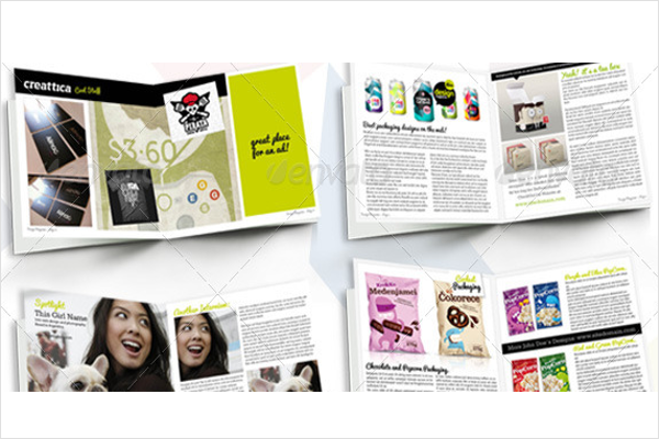 Illustration Magazine Design Print
