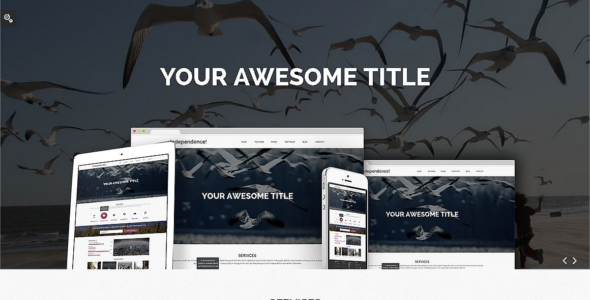 Independence Bootstrap Portfilio template