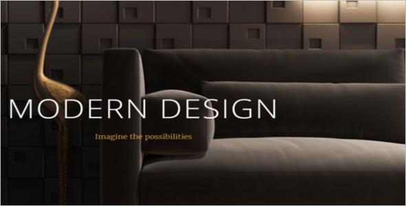 Interior Web Slider design Template