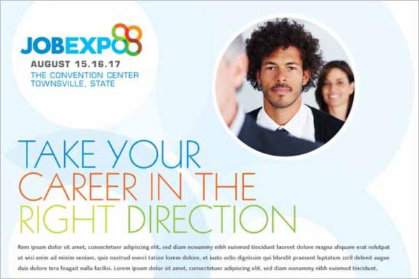 Job Placement Fair Flyer
