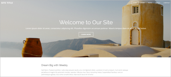 Journal Weebly Theme