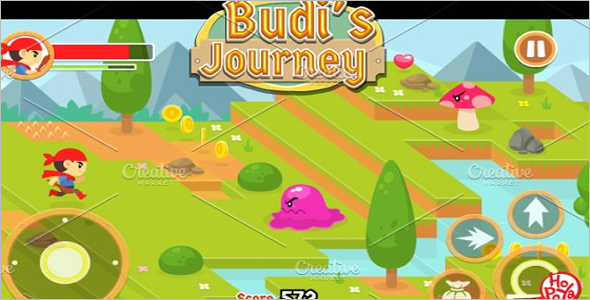 Journey Game Assets Design Theme