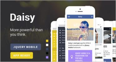 query Mobile Portfolio Templates