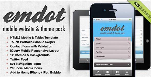 Jquery Mobile Theme Pack
