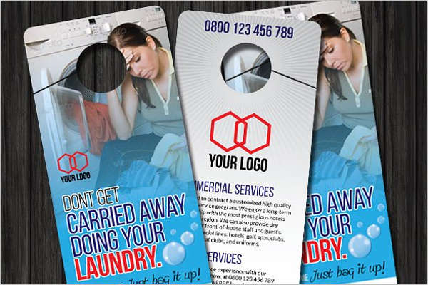 Laundry Door Hanger Template