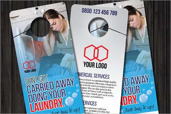 Laundry Door Hanger Template