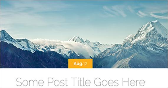 Lovely Free WordPress Theme