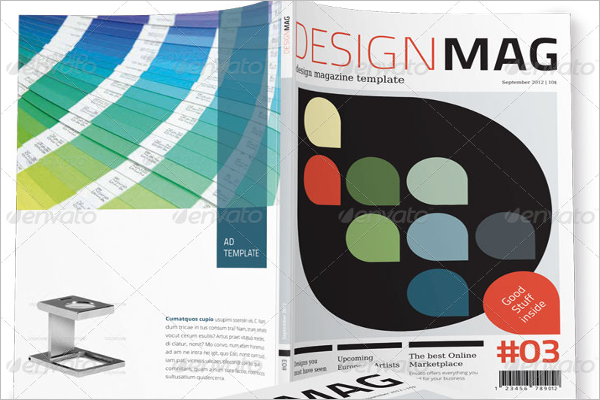 Magazine Graphic Design Template