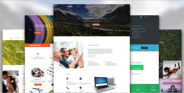 Main Page Website Templates