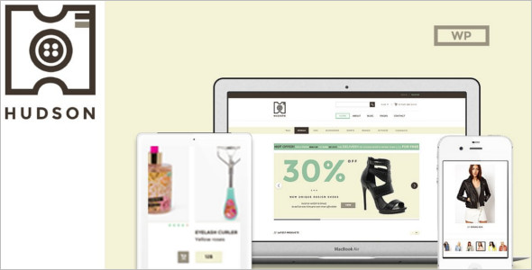 Main Responsive WooCommerce Theme