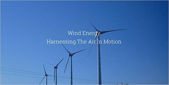 Main Wind Technologies Theme