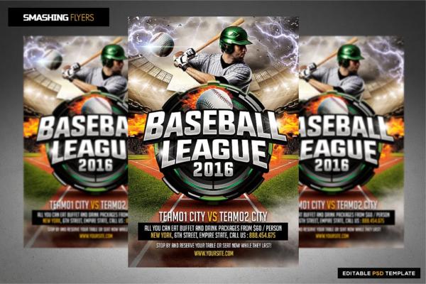 Major League Tournament Flyer