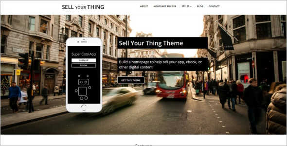 Marketing Retail WordPress Theme