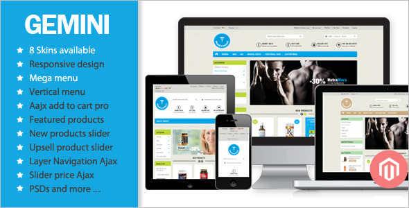 Medical Equipment E-commerce Magento Template