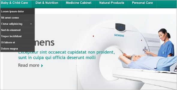 Medical Equipment Shop Magento Template