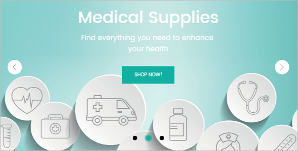 Medical Equipment Store Magento Template