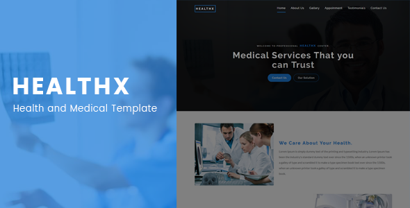 Medical pharma Bootstrap template