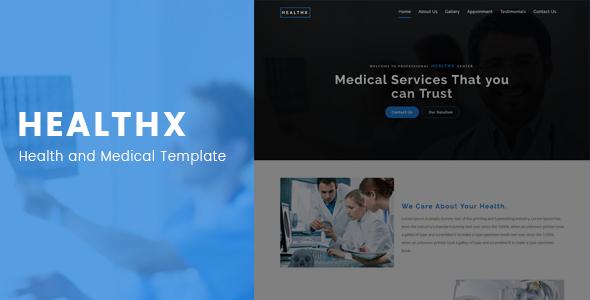 Medical pharma Bootstrap template