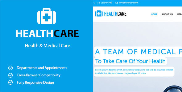 Medicale Bootstrap template Model