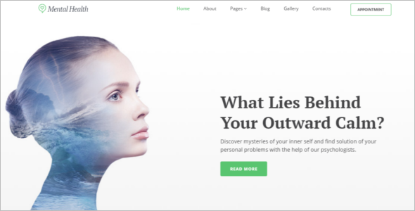 Mental Health Joomla Template