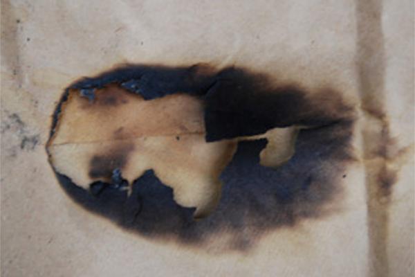 Minimal Burnt Texture Outlook