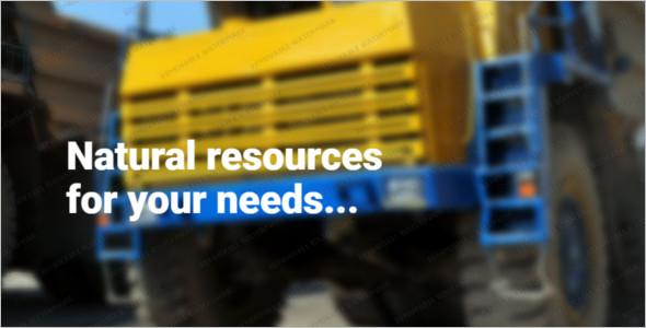 Minimal Construction Business Website Template