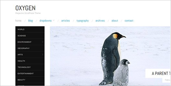 Minimal Coupon WordPress Template
