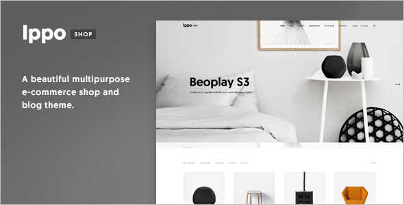 Minimal E-commerce WordPress Theme