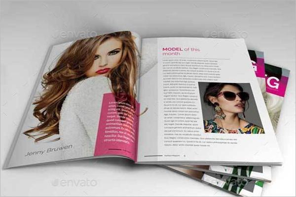 Minimal Fashion Show Design Template