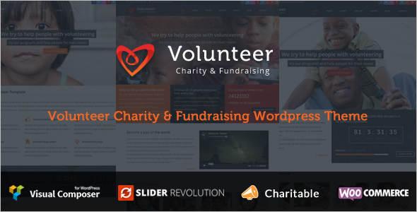 Minimal Fundraising WordPress Theme