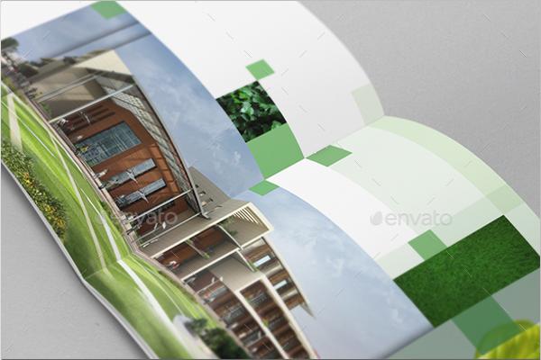 Minimal Indesign Green Brochure