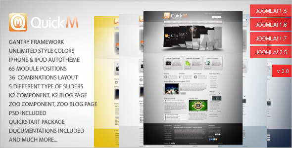 Minimal News Joomla Template