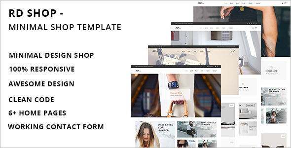 Minimal Retail HTML Template