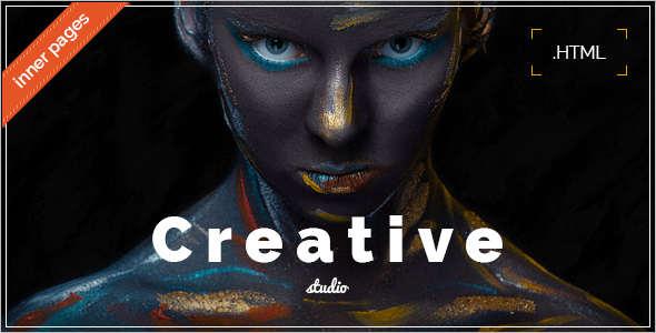 Minimal Studio Website Template