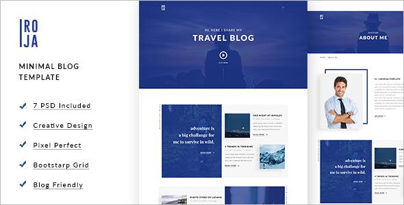 Minimal WordPress Template