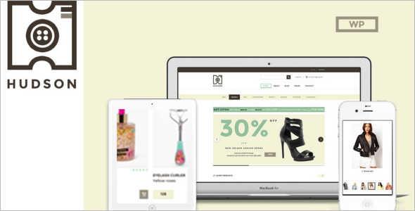 Minimilistic Retail WordPress Theme
