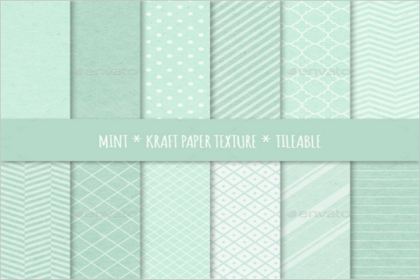 Mint Pattern Background Texture