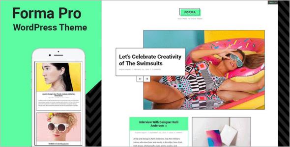 Mobile Gallery WordPress Template