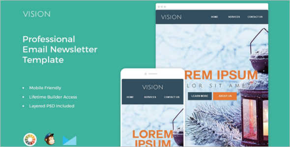 Mobile Newsletter Buindle Template