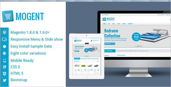 Mobile Ready Magento Theme