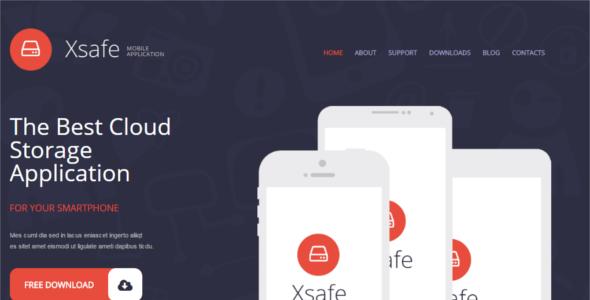 Mobile Store WordPress Template