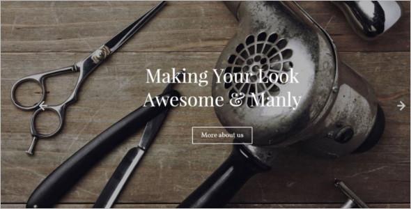 Modern Barber Shop WordPress Theme