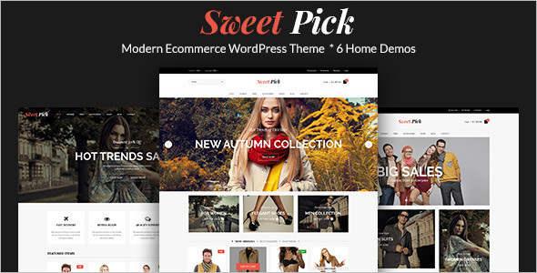Modern E-commerce WordPress Theme