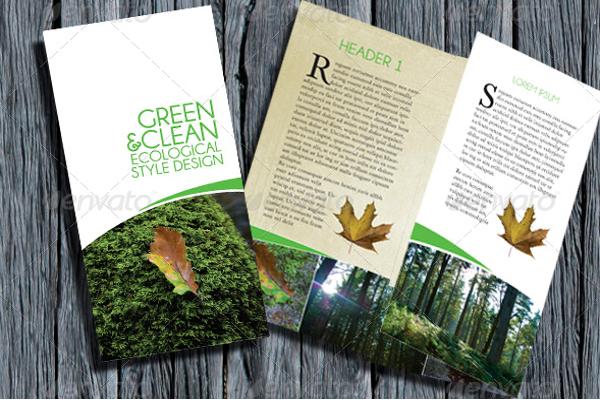 Modern Eco-Friendly Brochure Ideas
