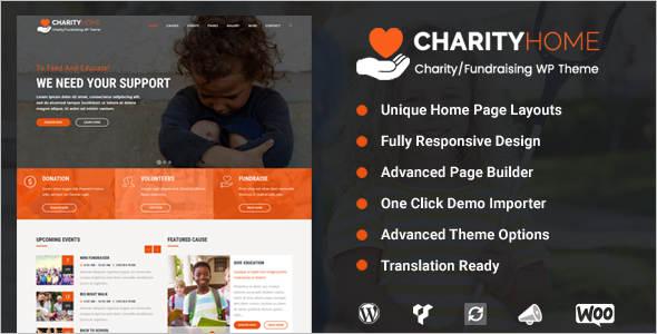 Modern Fundraising WordPress Theme