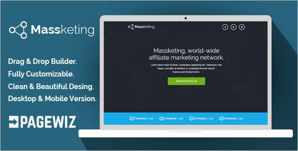 Modern Pagewiz LandingPage Template