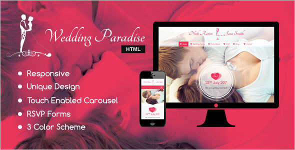 Modern Wedding Blog Template