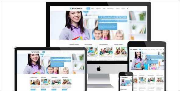 Modern kindergarten Joomla Template